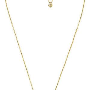 Michael Kors Luxusní pozlacený náhrdelník se zirkony MKC1389AN710